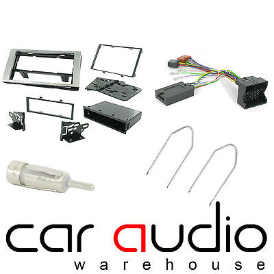 Ford S-Max 2006 On Car Stereo D/Din Fascia & Steering Wheel Interface CTKFD22