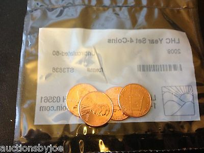 2009 Lincoln Head Cent Set (4 Coins) Uncirculated-60