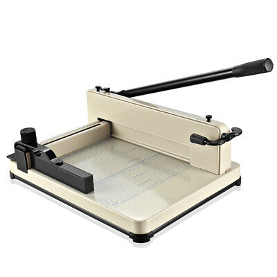 """12"""" Manual Guillotine A4 Paper Cutter Trimmer Machine Heavy Duty Commercial"""