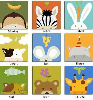 New Baby Nursery/Kids Room Wall Decoration - Animal Photo Frame