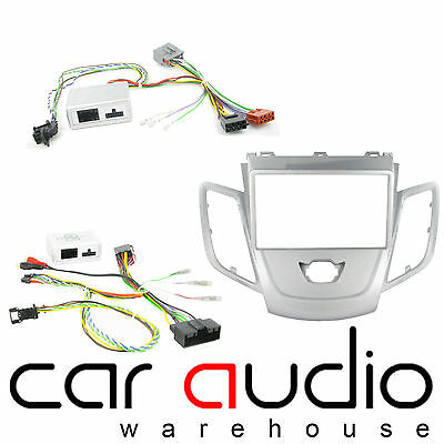 Ford Fiesta 2008 On Car Stereo D/Din Fascia & Steering Wheel Interface CTKFD28