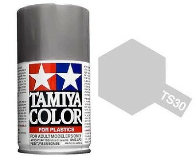 TAMIYA COLORI SPRAY 100 ml PER PLASTICA TS30 SILVER LEAF FOR PLASTICA BOMBOLETTA