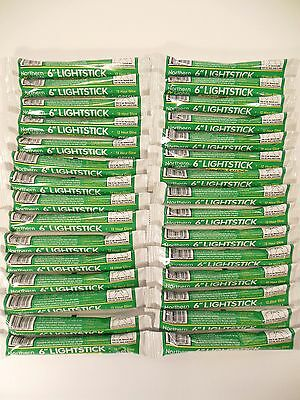 Lot of (100)  Emergency Light Sticks 12 Hour GREEN Disaster Survival Made in USA