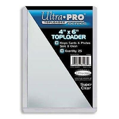 10 Ultra Pro 4 x 6 Toploader Postcard Photo Holders Storage Protection