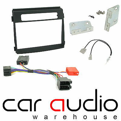 Kia Soul 2012 On Car Stereo D/Din Fascia Steering & Wheel Interface CTKKI17