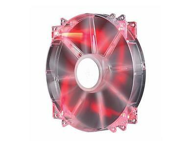 Cooler Master MegaFlow 200 - Sleeve Bearing 200mm Red LED Silent Fan for Compute