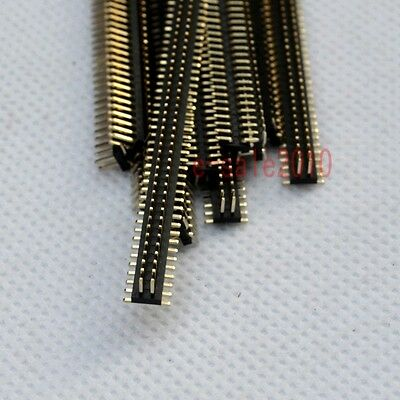10pcs RoHS 2X50 1.27mm Pin Header Double Row SMT/SMD Male for DIP PCB Board G27