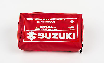 Suzuki Genuine First Aid Kit + High Viz Safety Vest / Jacket 990D0-FST01-KIT