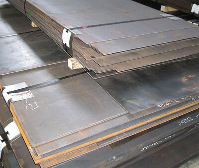 5mm thick mild steel sheet plate profiles blanks many sizes free custom cutting
