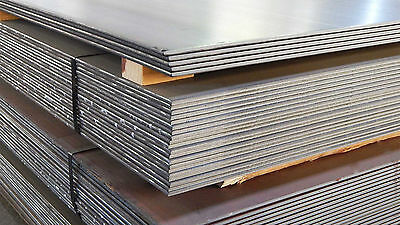 10mm thick mild steel sheet plate profiles blanks many sizes free custom cutting