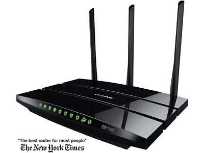 TP-LINK Archer C7 Wireless AC1750 Dual Band Gigabit Router, 450 Mbps on 2.4 GHz