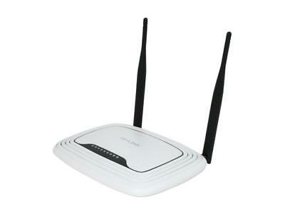 TP-LINK TL-WR841N Wireless N300 Home Router, 300Mbps, IP QoS, WPS Button