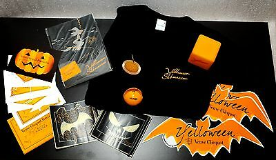 Champagne Veuve Clicquot Ponsardin: Yelloween Halloween Packet B, Many Items !!