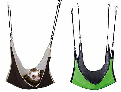 Large Hanging Hammock for Ferrets, Rats, Hamsters, Gerbils, Mice & Small Rodents