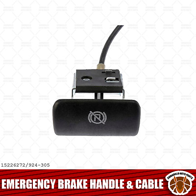 Emergency Parking Brake Release Pull Handle and Cable for Chevy GMC Pickup Truck