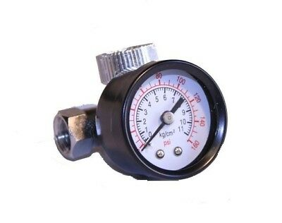 Air Regulator with Pressure Gauge, In-Line Air Regulator, Spray Gun Regulator