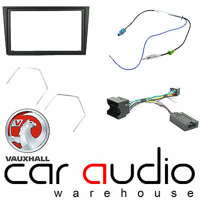 Vauxhall Meriva 2007-10 Car Stereo D/Din Fascia Steering Wheel Interface CTKVX08