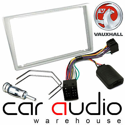 Vauxhall Vectra Upto 04 Car Stereo D/Din Fascia Steering Wheel Interface CTKVX07