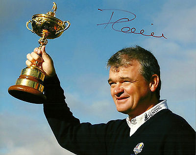 Paul Lawrie Hand Signed 8x10 Photo Golf Autograph Signature PGA