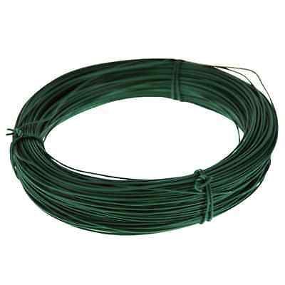 30m MULTI PURPOSE GREEN GARDEN WIRE 1mm THICK PLANT TIE SECURING SUPPORT GSW102