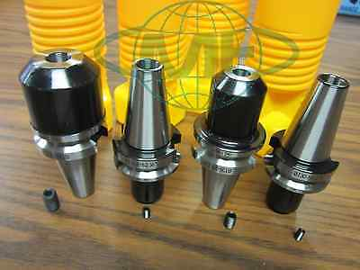 BT30 END MILL HOLDERS-- 4 PCS OF ANY SIZES from our list--NEW   Tool Holder Set