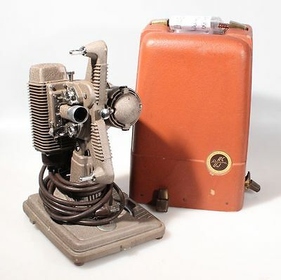 Vintage Revere 85 8Mm Film Projector In Orig. Carrying Case, Art Deco