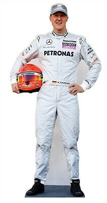 Michael Schumacher Racing Driver Cardboard Cutout Stand Up - Drive him home!