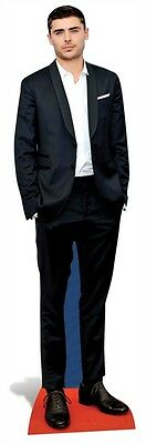 Zac Efron Actor Singer Celebrity Cardboard Cutout Stand up Great for parties