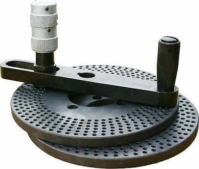 "The dividing plate for  6"", 8"" ,10"" and 12"" rotary tables"