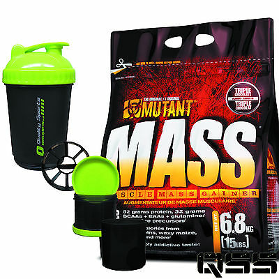 Pvl Mutant Mass Muscle Mass Weight Gainer 2.2Kg Or 6.8Kg 10 Proteins Waxy Maize