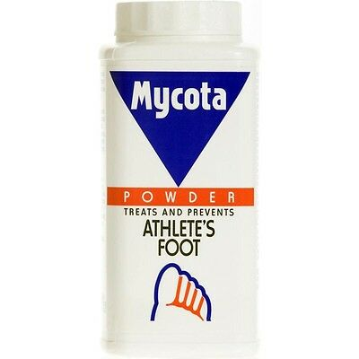 Mycota Athlete's Foot Powder 70g Treats Prevents Fungal Infection Dry Itchy Toes