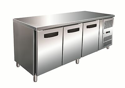 Commercial Under Bench Freezers - Three Door Under Counter Freezer