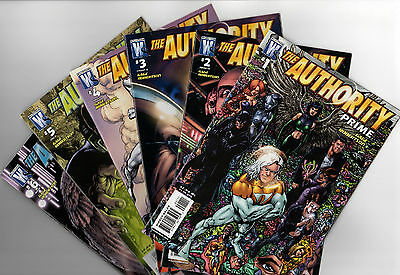 THE AUTHORITY PRIME # 1 2 3 4 5 6 - Full Set 1-6 VF Comics - First Prints