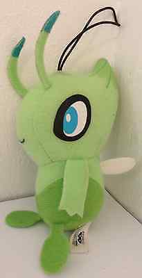 Pokemon Celebi Plush Doll UFO Banpresto 2010 Plüschtier Hang Strap
