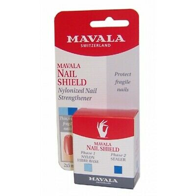 Mavala Nail Shield Protects & Reinforces Fragile Nails - 2 x 5ml