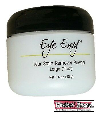 Eye Envy NR Dog Cat Pet Tear Stain Remover Powder Tearstain Removal System 2 oz