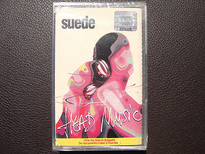 Suede - Head Music AUDIO CASSETTE TAPE New, Sealed, BG edition Rare Out of Print