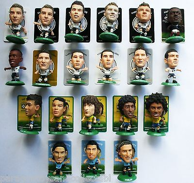 WORLD CUP 2014 HOME KIT SOCCERSTARZ - Choice of 17 different loose figures