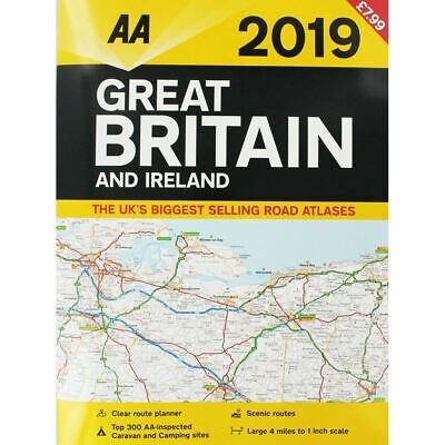 AA Great Britain and Ireland Atlas 2018 (Road Map)