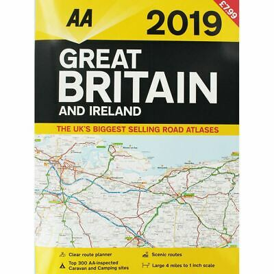 AA Great Britain and Ireland Atlas 2019 (Road Map)