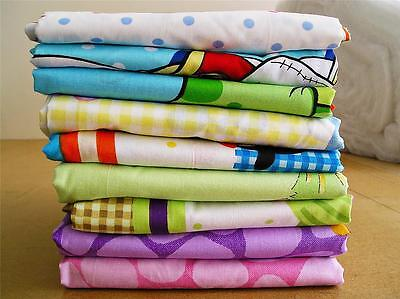 Nursery 100% Cotton Patterned Fitted Sheet to fit Crib/Cot/Cot Bed/Toddler Bed
