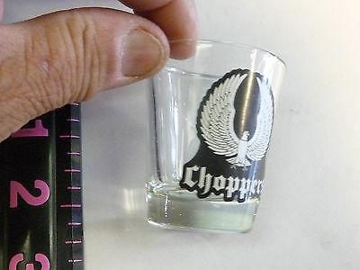 COLLECTIBLE SHOT GLASS  CHOPPERS