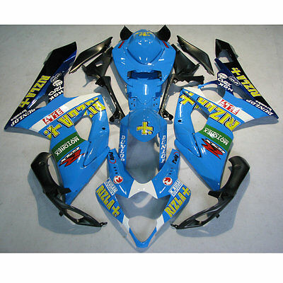 RIZLA INJECTION Plastic Fairing Kit For SUZUKI GSXR1000 GSXR 1000 05 06 K5 10A