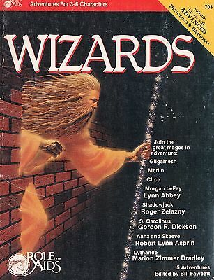 Wizards by Mayfair Games Role Aids for Advanced Dungeons & Dragons 1986, PB