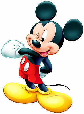 mickey mouse  VINYL WALL STICKER WALL DECALS