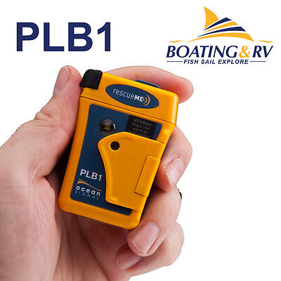Ocean Signal rescueME PLB with GPS Worlds Smallest Personal Locator Beacon PLB