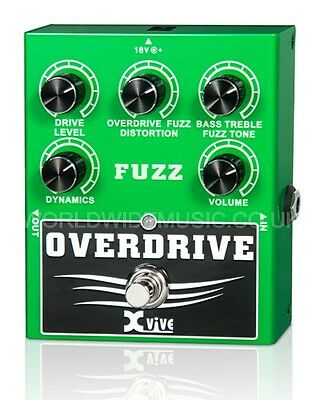 XVive W2 Overdrive Fuzz  FX Pedal Stomp Box - Engineered for Musicians