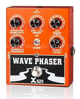XVive W1 Wave Phaser  FX Pedal Stomp Box - Engineered for Musicians