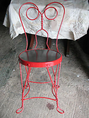 Wire  Chair Soda Fountain/ Cabaret   Vint. Restored   Super !!!!!!!!!