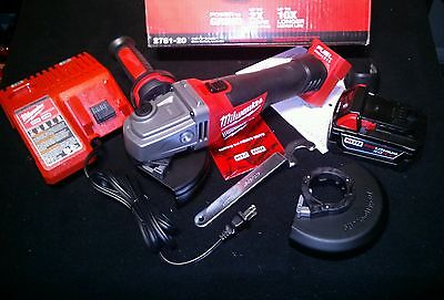 New Version M18 Fuel Milwaukee  Grinder Kit charger battery kit fits tools